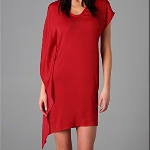 Helmet Lang Orbit Asymmetrical Dress